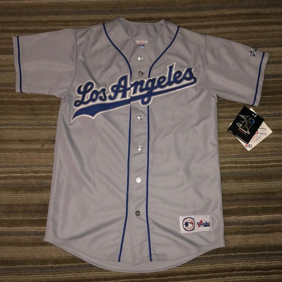 lowest price a077a 3b297 Authentic Majestic Dodgers Jersey Gary Sheffield NWT